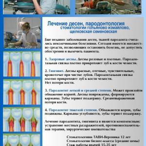 Пародонтологическое лечение десен в стоматологии