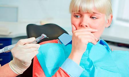 Лечение зубов при выраженном рвотном рефлексе