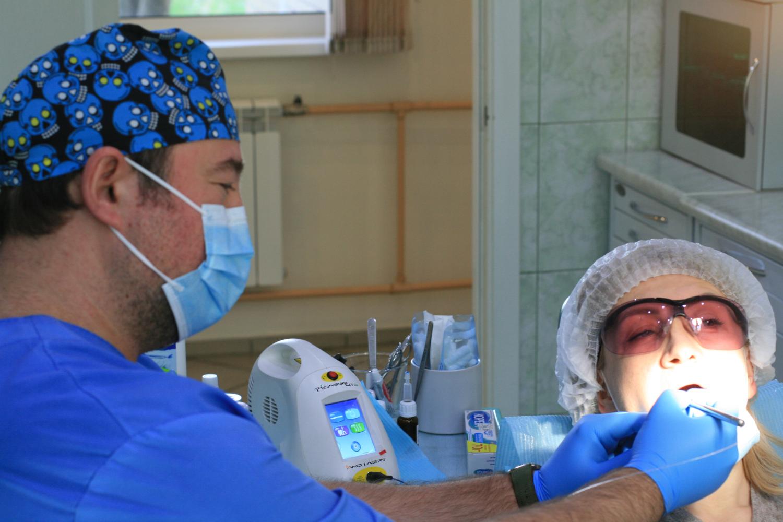 Лазерное лечение зубов